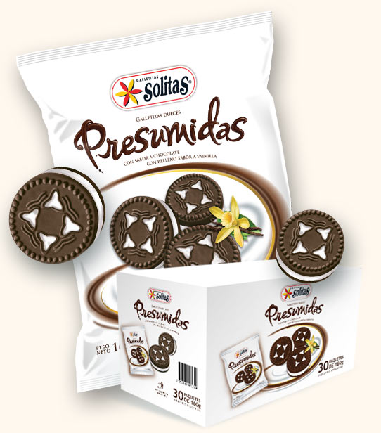 Presumidas sabor Chocolate