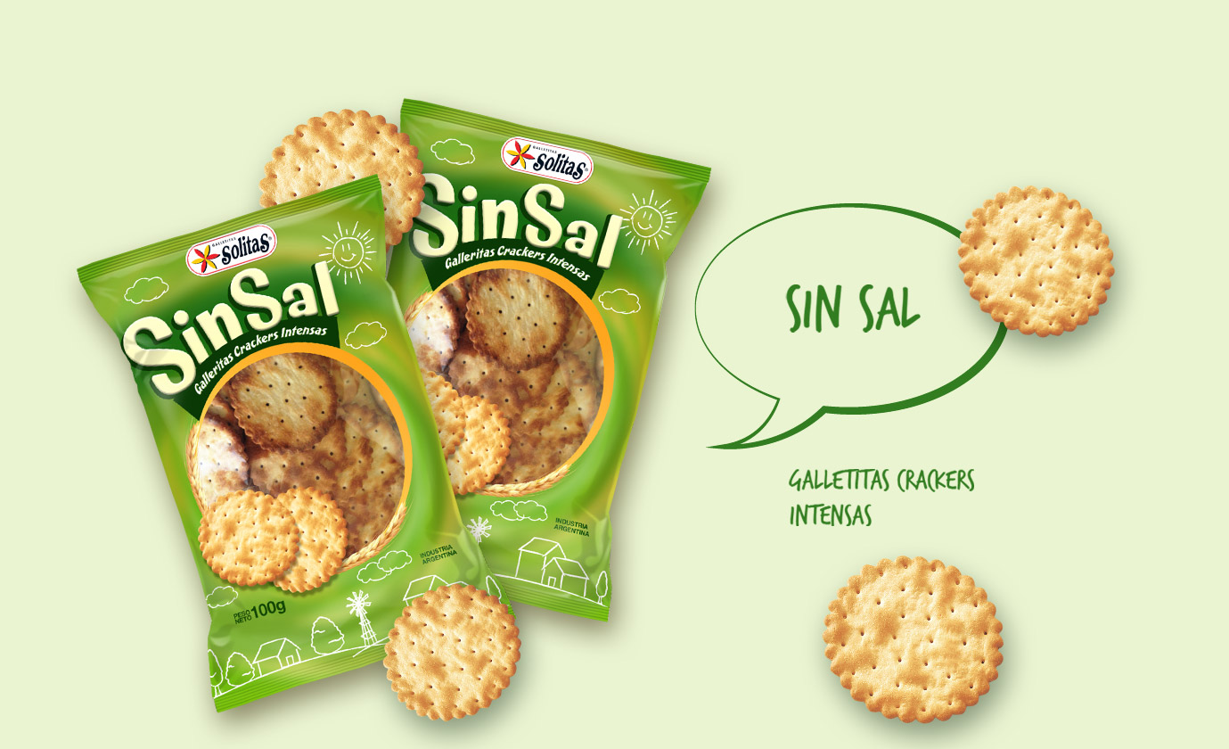 Sin Sal Galletitas